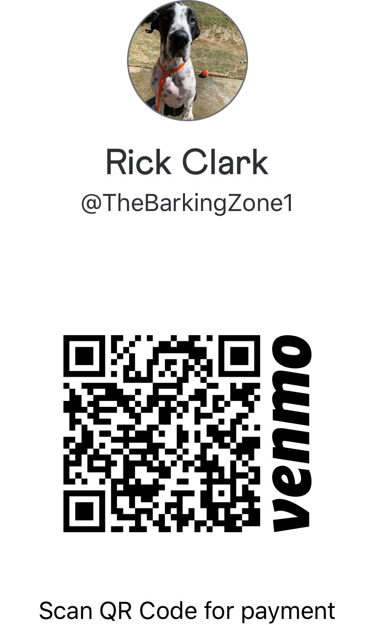 Scan to Make Payment Through Venmo